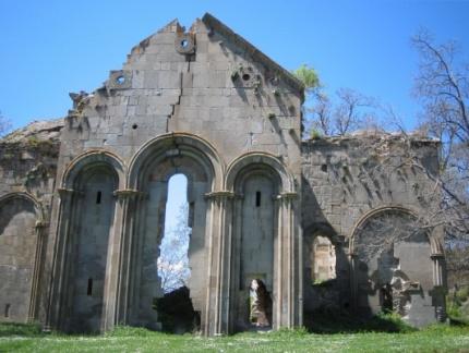 ?av?at-Cevizli Köyü\'ndeki kilise